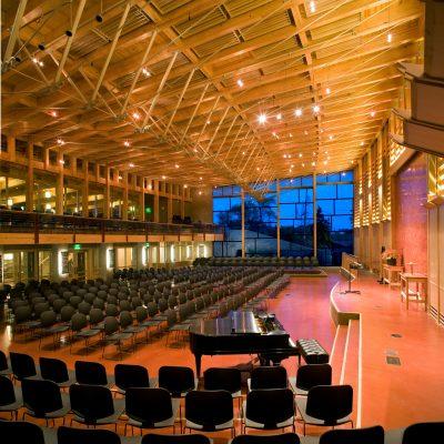 FUS Auditorium Interior Night